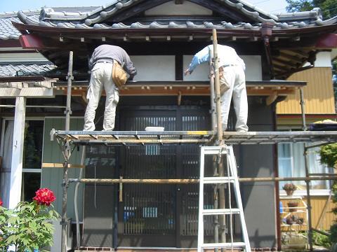 キリヨケの板金工事