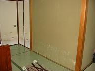 和室壁塗替え工事