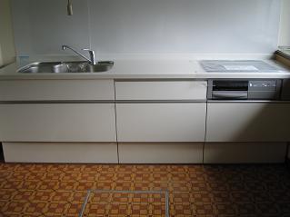 システムキッチンに交換