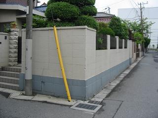 解体工事着工前には近隣へのご挨拶