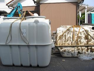 合併浄化槽と単独浄化槽
