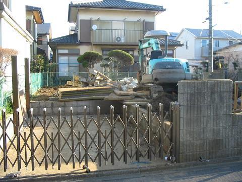 佐倉市内 解体工事