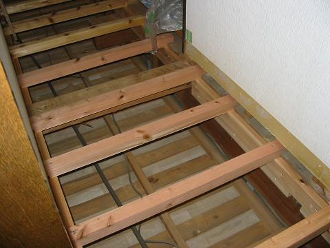二階床工事